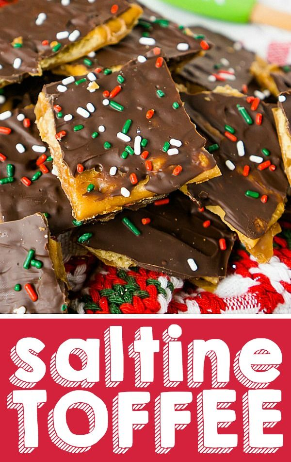 Easy Christmas Candy.Saltine Toffee Aka Christmas Crack