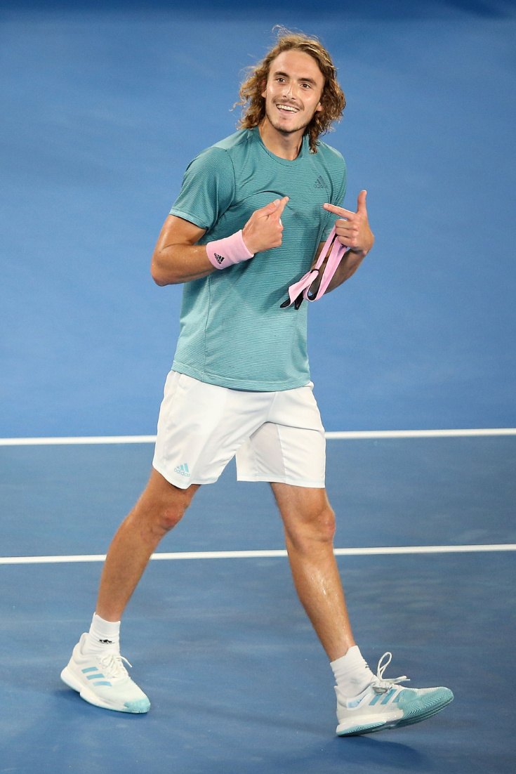 Putting Stefanos Tsitsipas Under The Microscope After He Knocked Federer Out Of Ao Roger Federer Tennis Stars Tennis Pictures