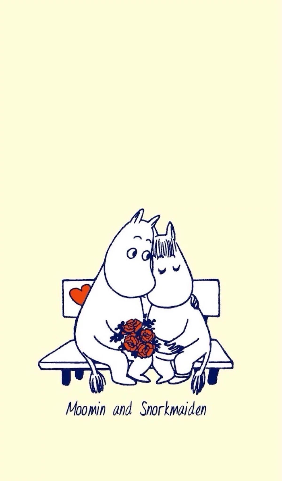 Moomin Wallpaper おしゃれまとめの人気アイデア Pinterest Khanitta Thansumrong ムーミン イラスト ムーミン 壁紙 トーベ ヤンソン