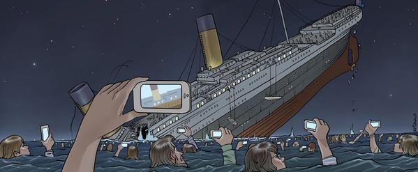 Naufrage du Titanic de nos jours