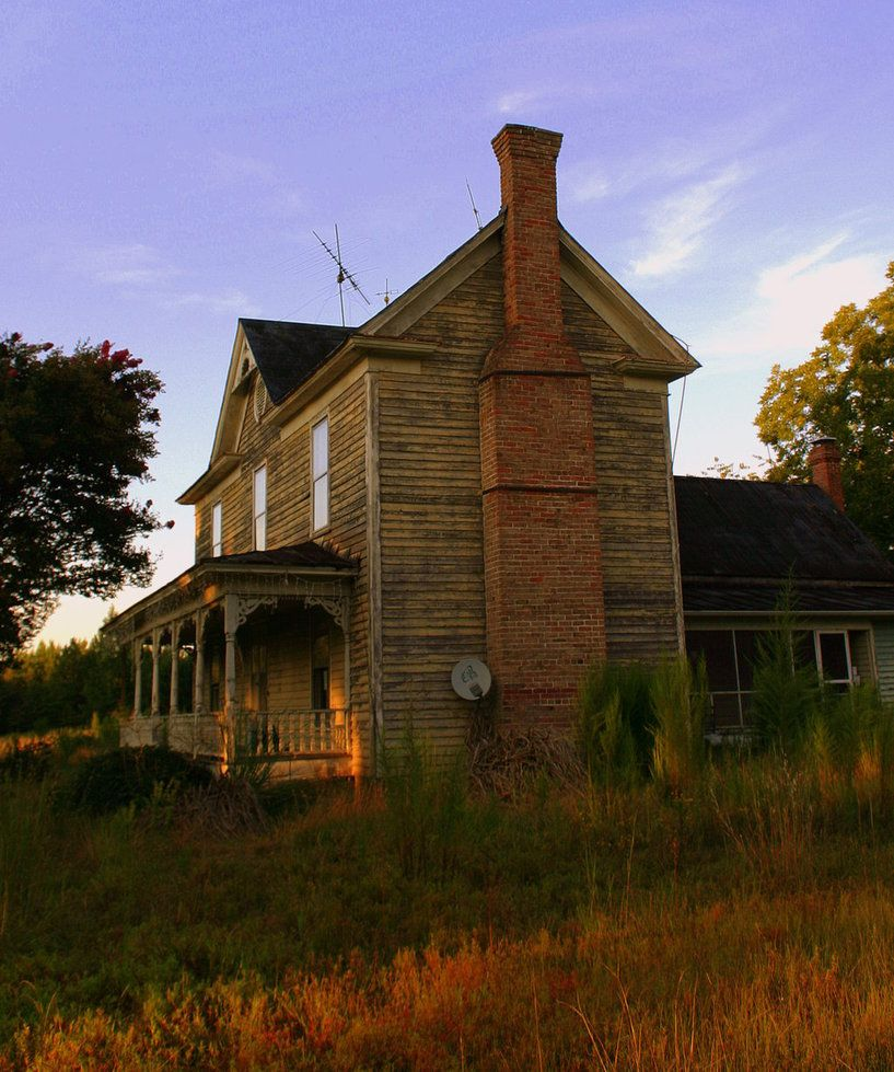 Autumn Cometh By Bluemangoimages On Deviantart With Images Farmhouse Architecture Abandoned Buildings House Styles