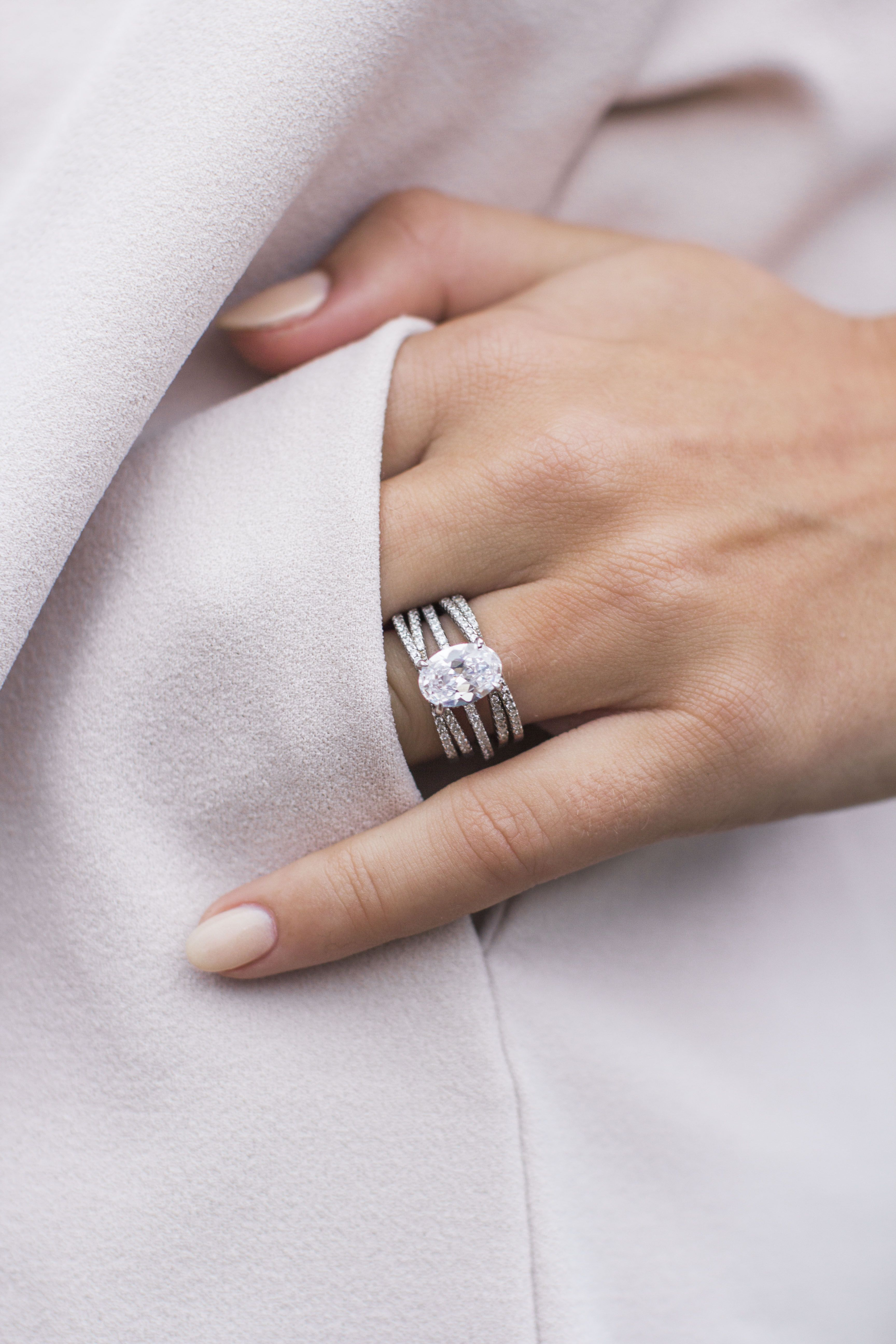 Everly Valentine S Collection Giveaway Simulated Diamond Rings Chic Rings Diamond Stacking Rings