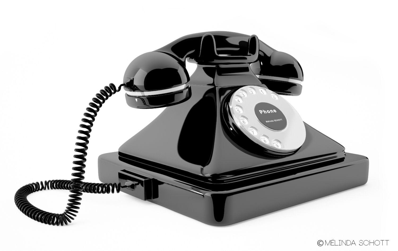 Modelisation Et Rendu Realiste D Un Telephone Vintage Dans