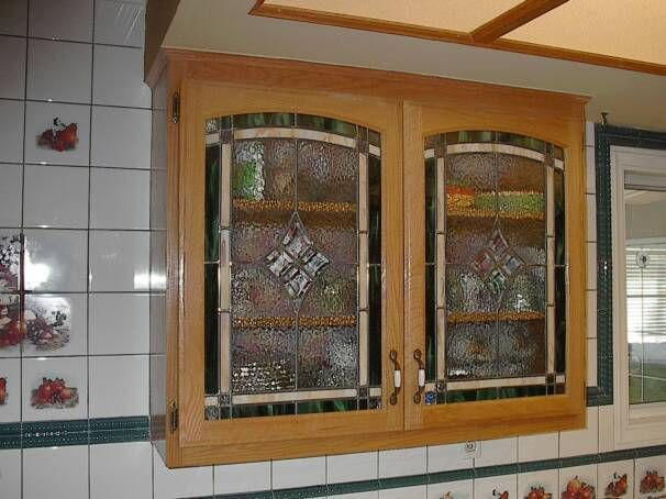 Glass For Kitchen Cabinet Doors For Sleek Display Kitchen Cabinets