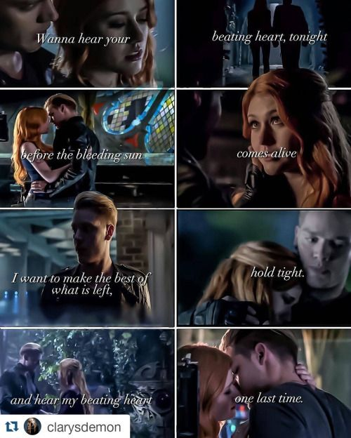 Fan edit with upcoming footage | TV Clace moments | Clace, Fan edits
