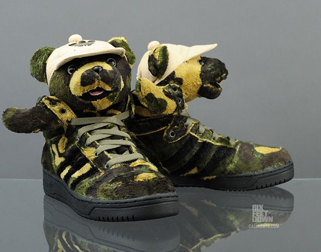 adidas Originals JS Camo Bear (Q20917) - Caliroots.com