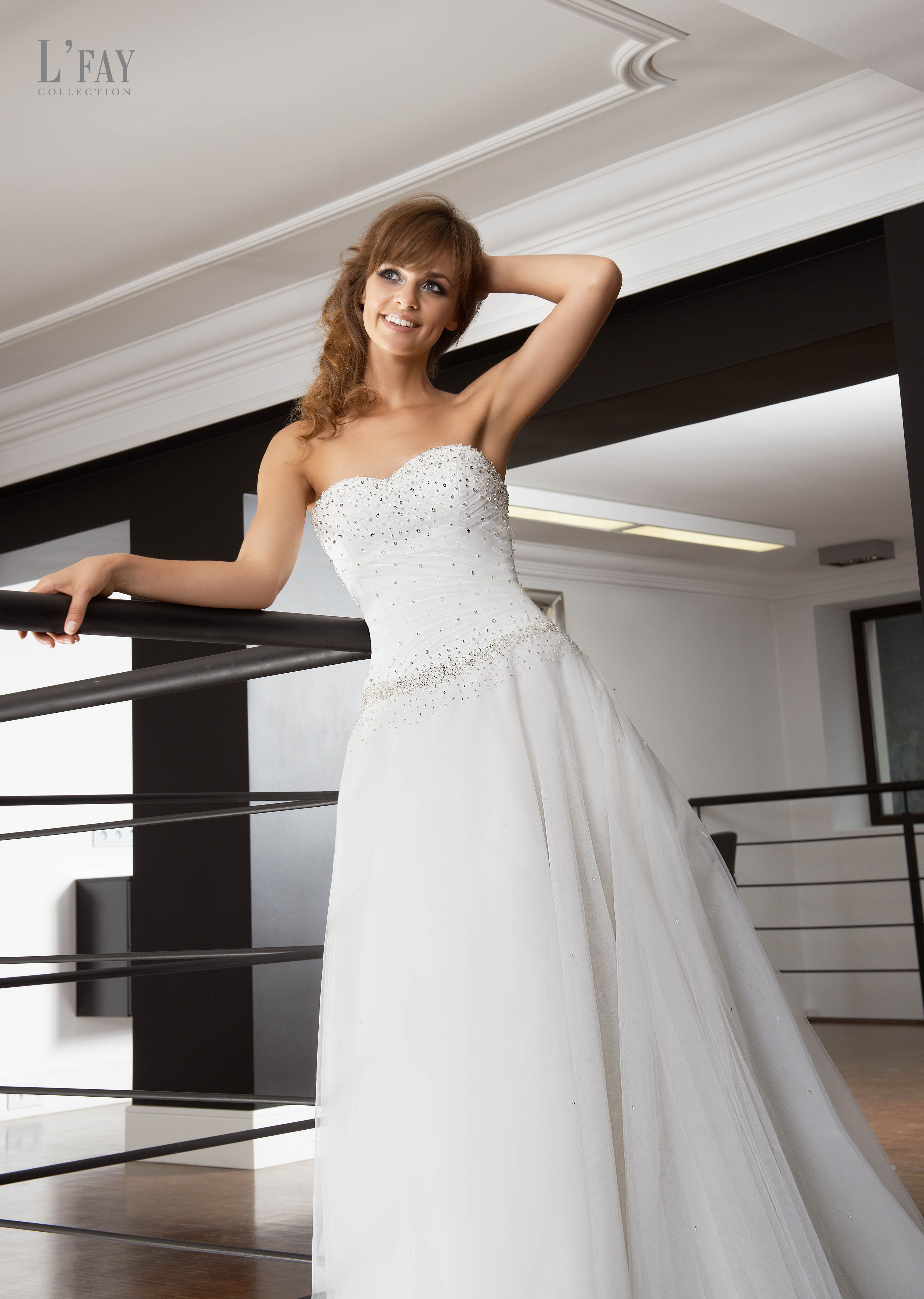 Milly   L'Fay Collection   Designer wedding gowns, Wedding gowns ...