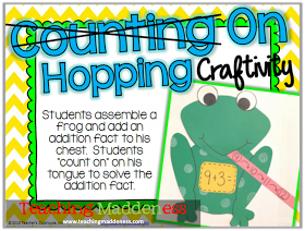 Counting On Craftivity *Teaching Maddeness*: It's WINSday {Double Dose of a Brand New Unit}