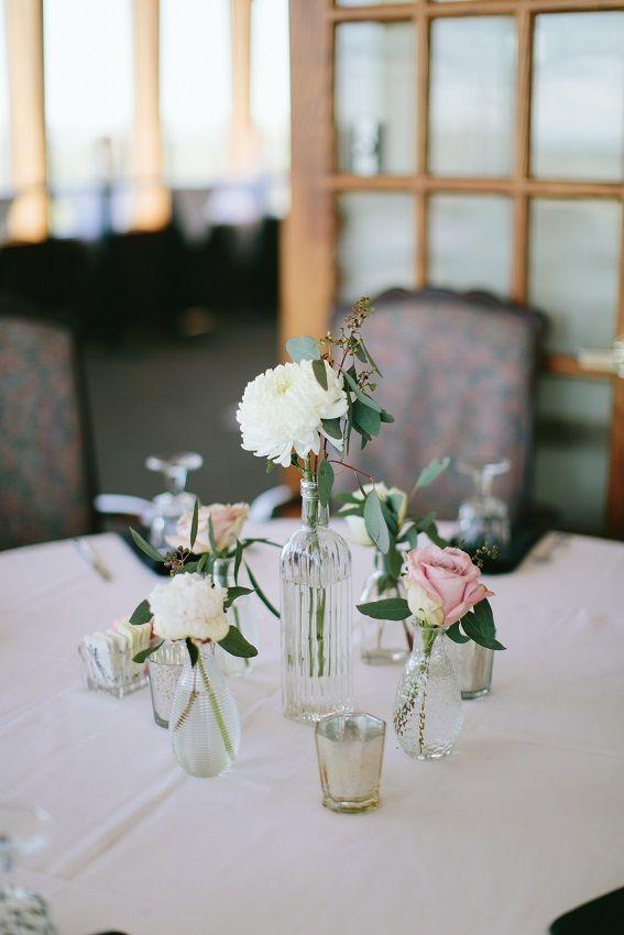 Bud Vase Centerpieces China Mum Quicksand Roses Peonies Brianne