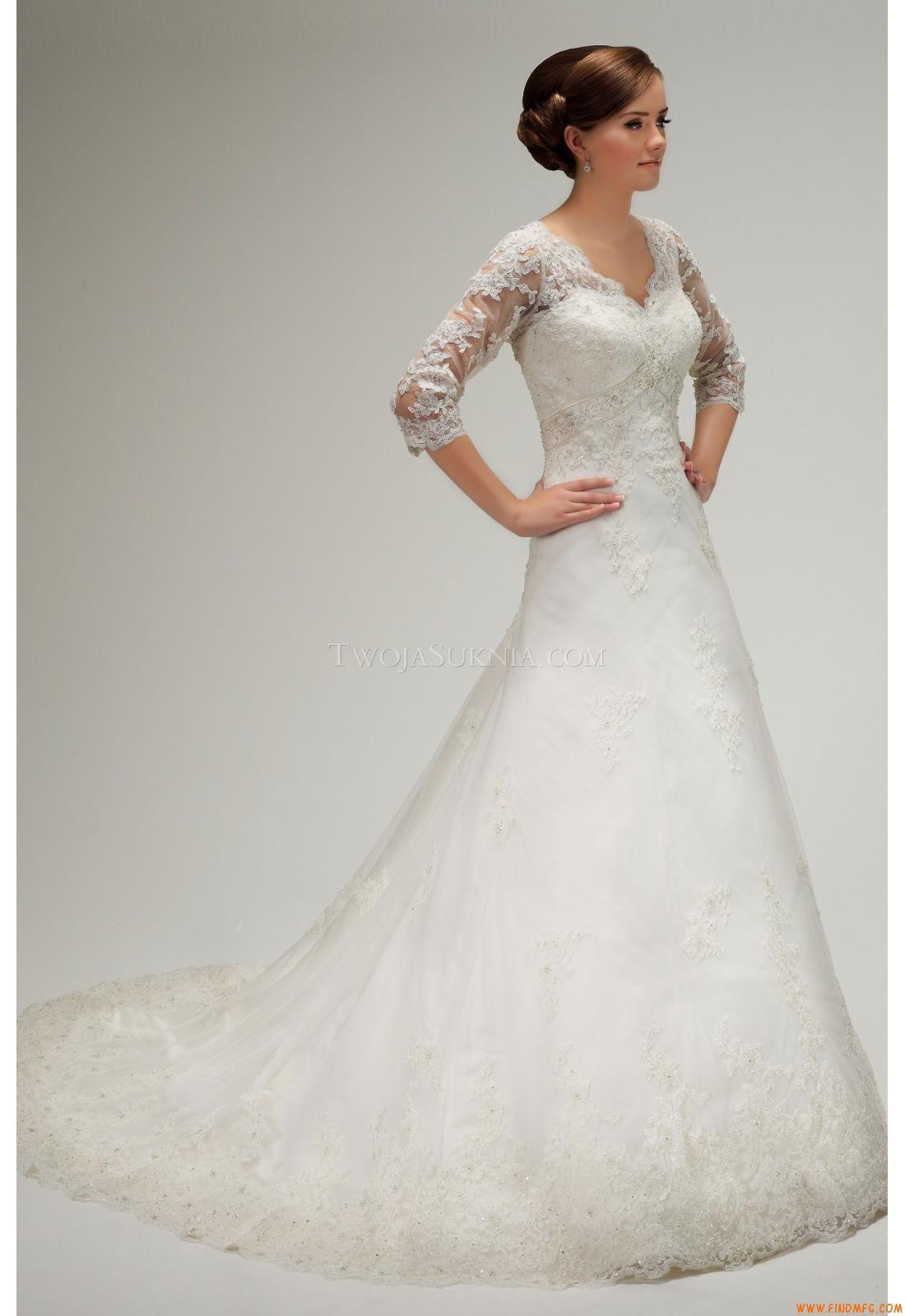 Vestidos de noiva Lisa Donetti 70254 2013