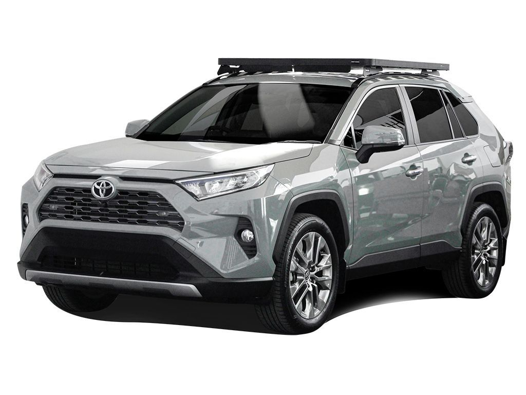 Slimline II Roof Rack For Toyota Rav4 2019 to Current - by Front Runner Outfitters This is one of the best possible roof racks for the newest Toyota Rav4 vehicle (2019 to current models). Front Runner designed an outstanding all purpose rack. With a load rating of 660 lbs, you can have the peace of mind that it'll allow you to carry pretty much anything. Add to that the fact that they're designed and tested in South Africa, and you know it's a true off road rack. Carry from surfboards, to gear,