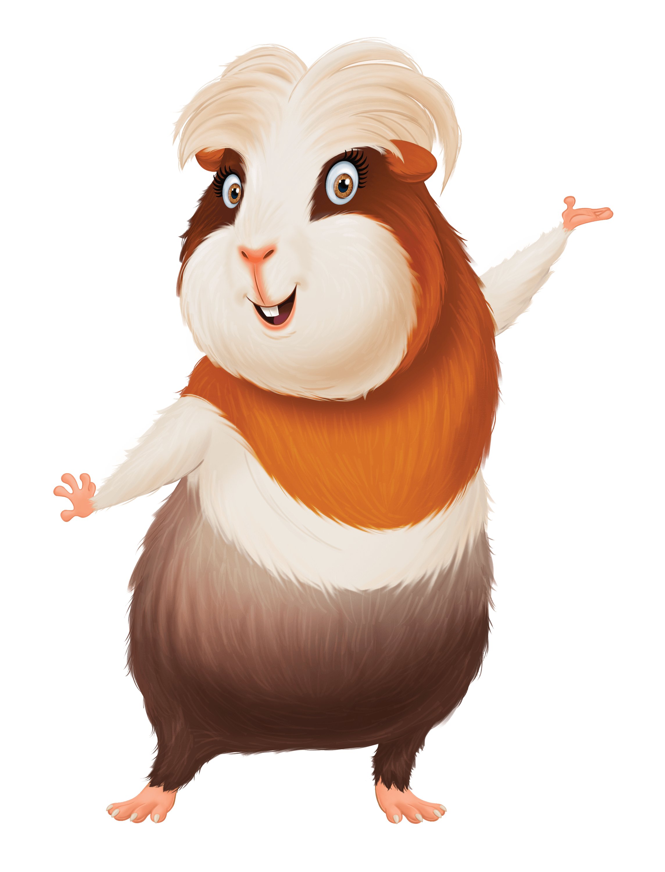 Image Result For Charo Guinea Pig Cartoon