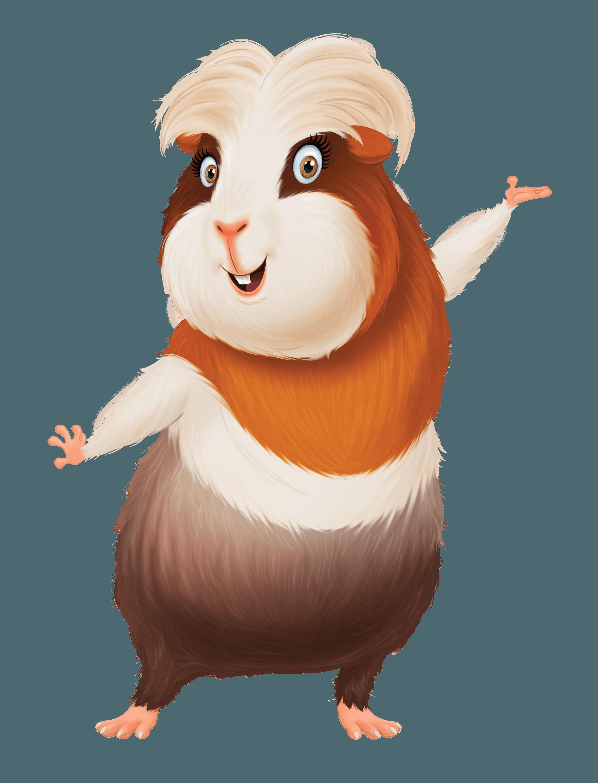 Image Result For Charo Guinea Pig Cartoon