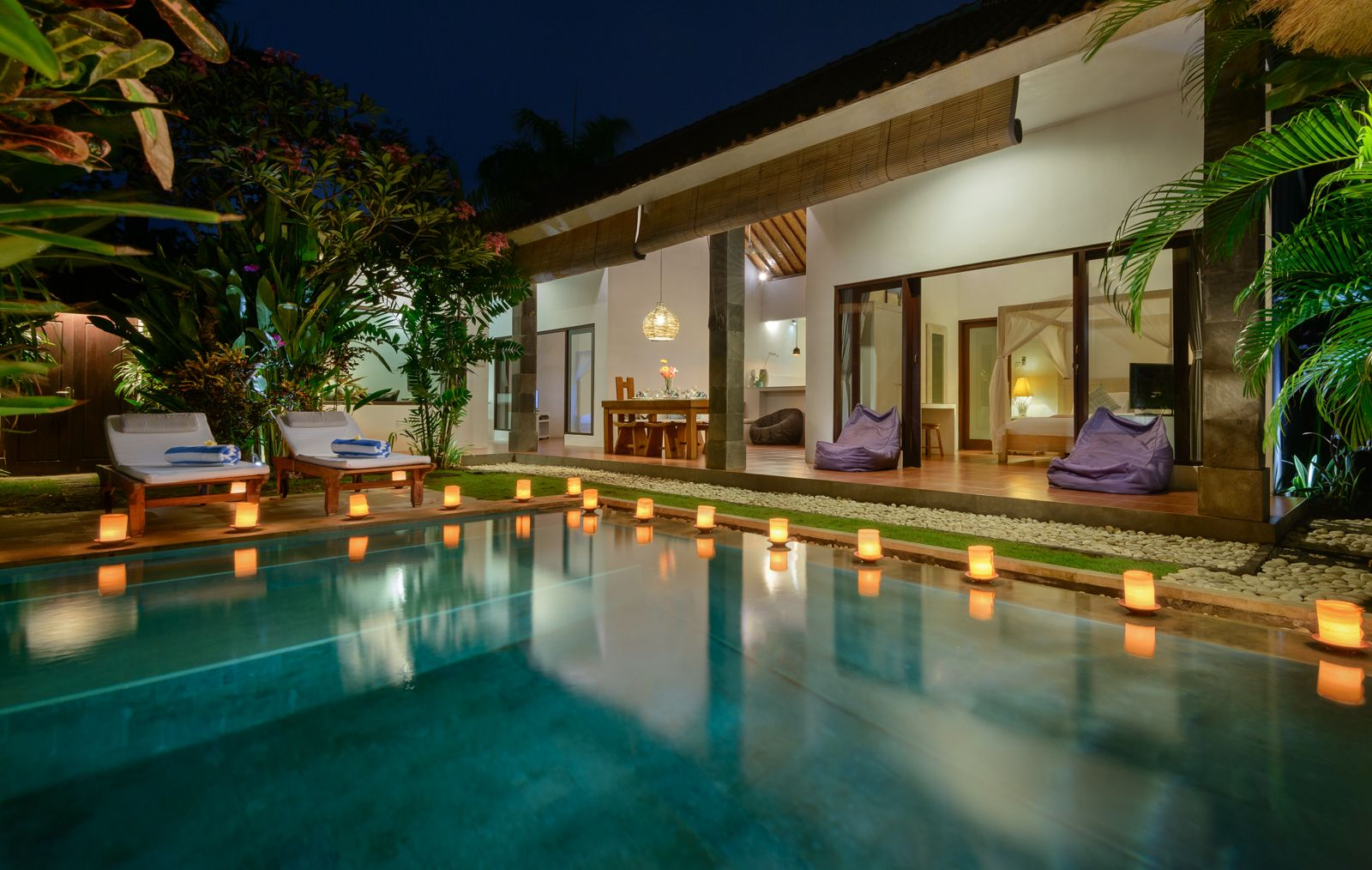 """Location, location, location……Villa Saudara is situated next to Villa C151, a stones throw from Kudeta, """"Eat Street"""" and less than 100 meters from Seminyak Beach."""