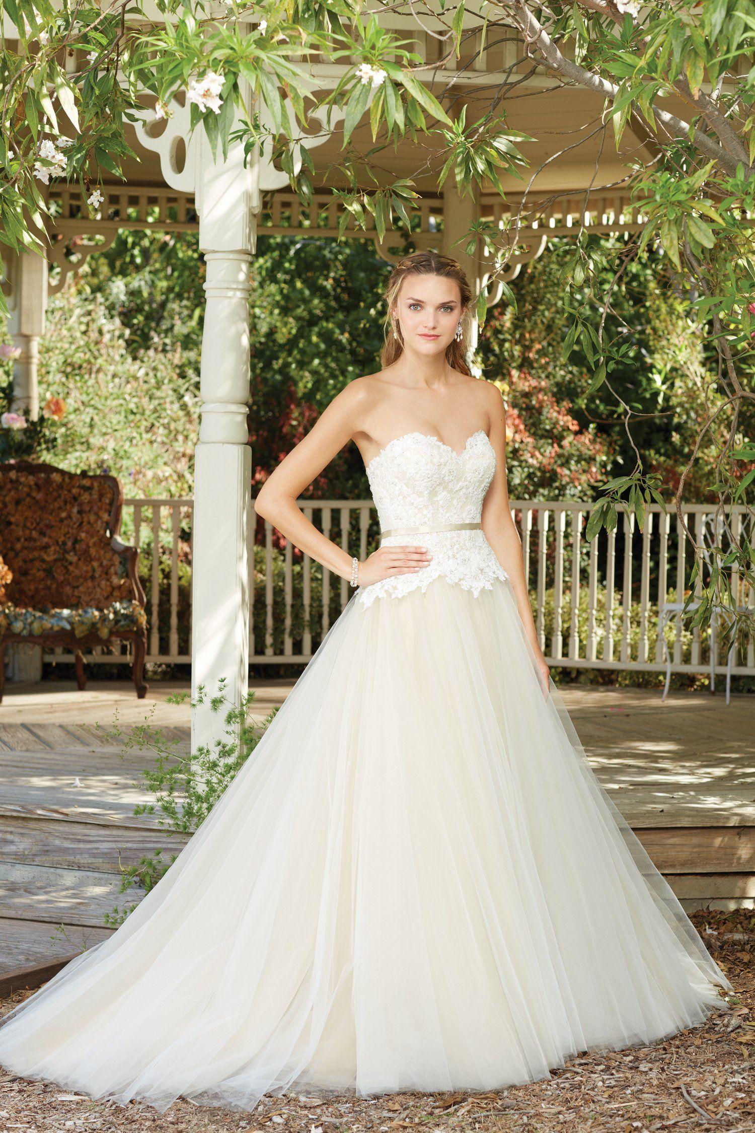 Casablanca Bridal 2282, Hydrangea Ball gowns wedding