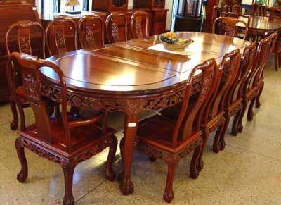 11 Piece Teak Dining Table Set From Indonesia Indonesian Furniture Small Kitchen Decor Teak Dining Table