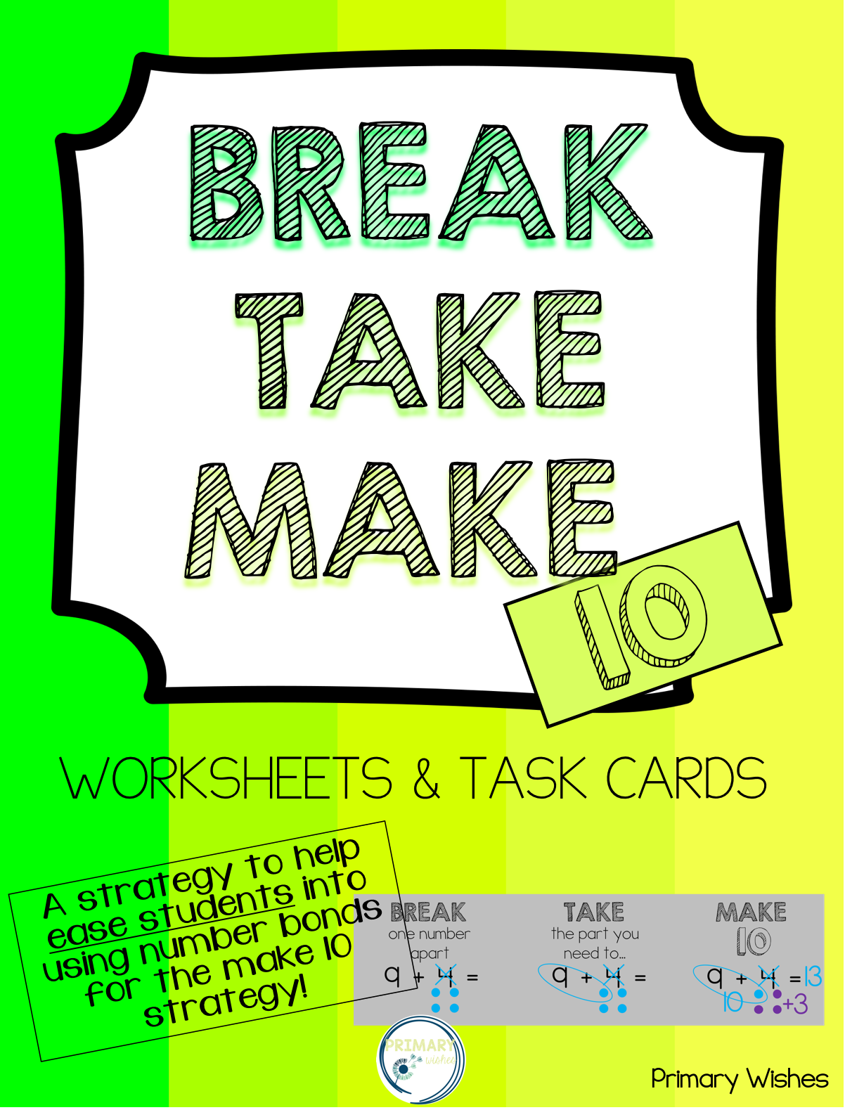 Ease Students Into The Make 10 Strategy With This Catchy