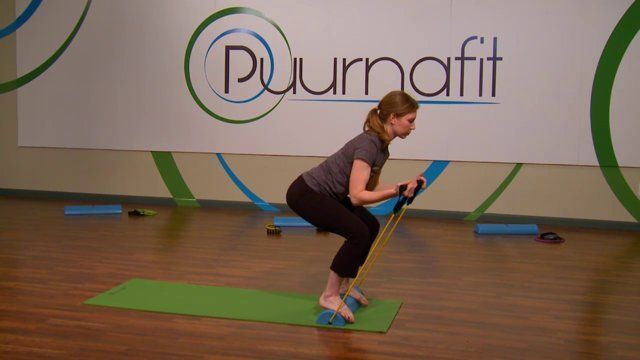 Puurnafit developed The Body Beam to enhance the standard yoga workout. By adding the benefits of resistance training and instability, The Body Beam take yoga to a whole new level.  #fitnessequipment #yogaequipment #yoga