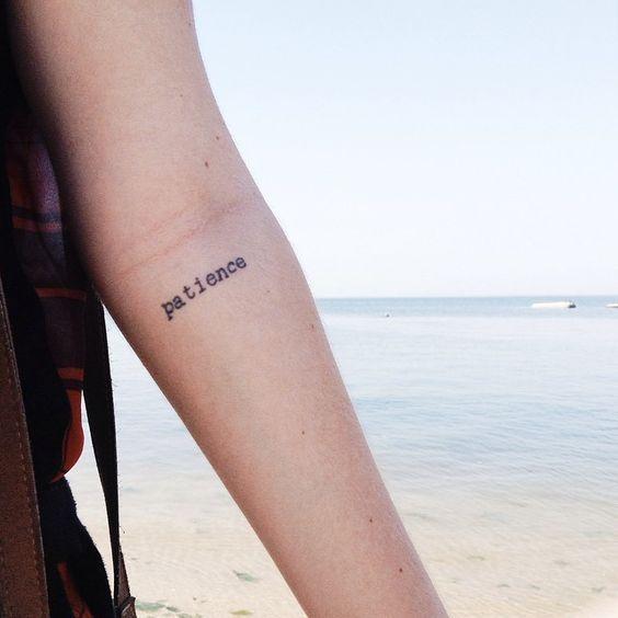 Inner Elbow Tattoos, Dainty