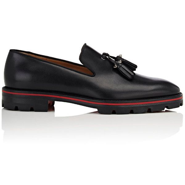 Mens Luglion Leather Venetian Loafers Christian Louboutin Sale Recommend DjNDBJ2z