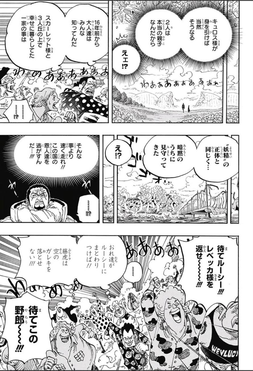 ワンピース chapter 799 page 11 one piece chapter one piece comic one piece