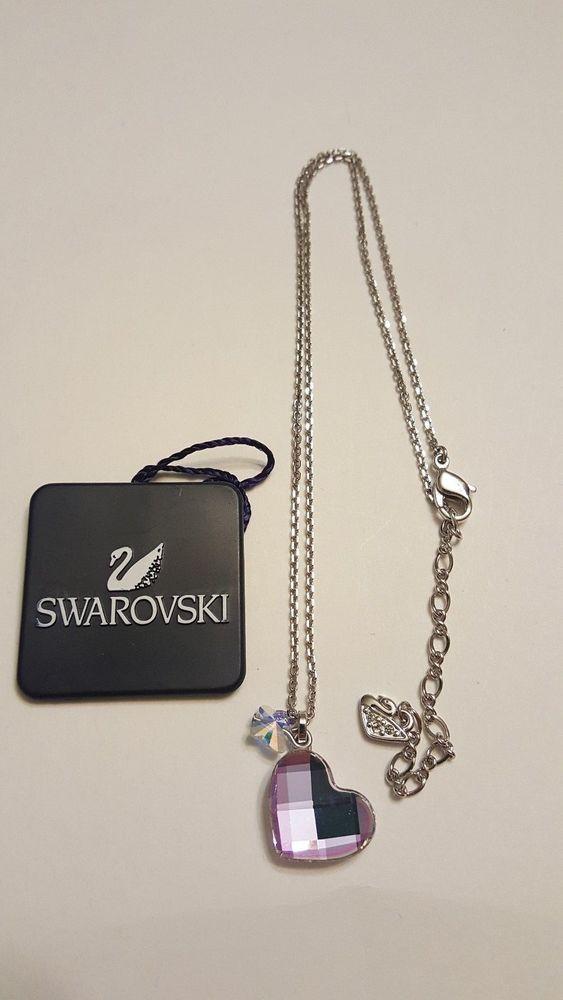 Swarovski Crystal Heart Mini Pendant 960041 Swan signed  #Swarovski #ebay #jewelry #fashion