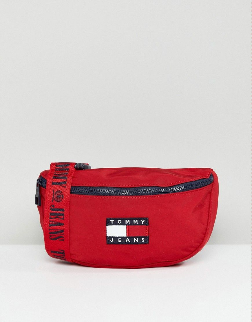 692a05f8fdcf Tommy Jean 90s Capsule Fanny Pack | branded bum bags | Bags, Bum bag ...