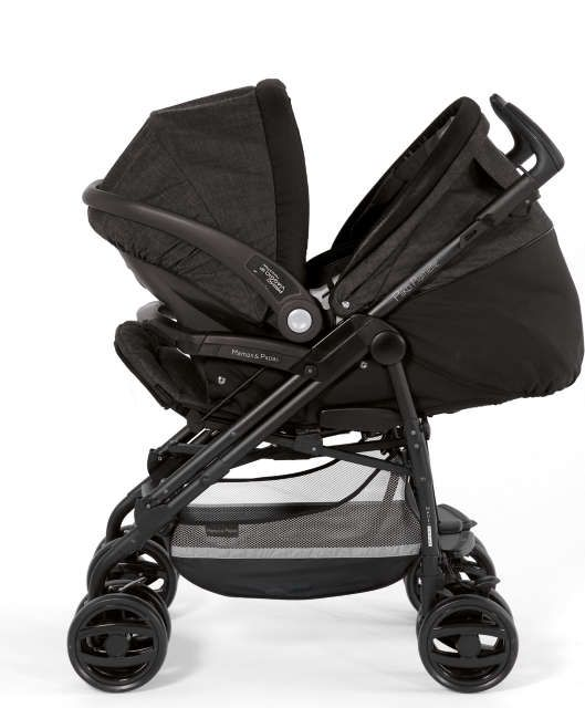 Mamas and Papas - Pliko Pramette - City Scape - With Car Seat | baby