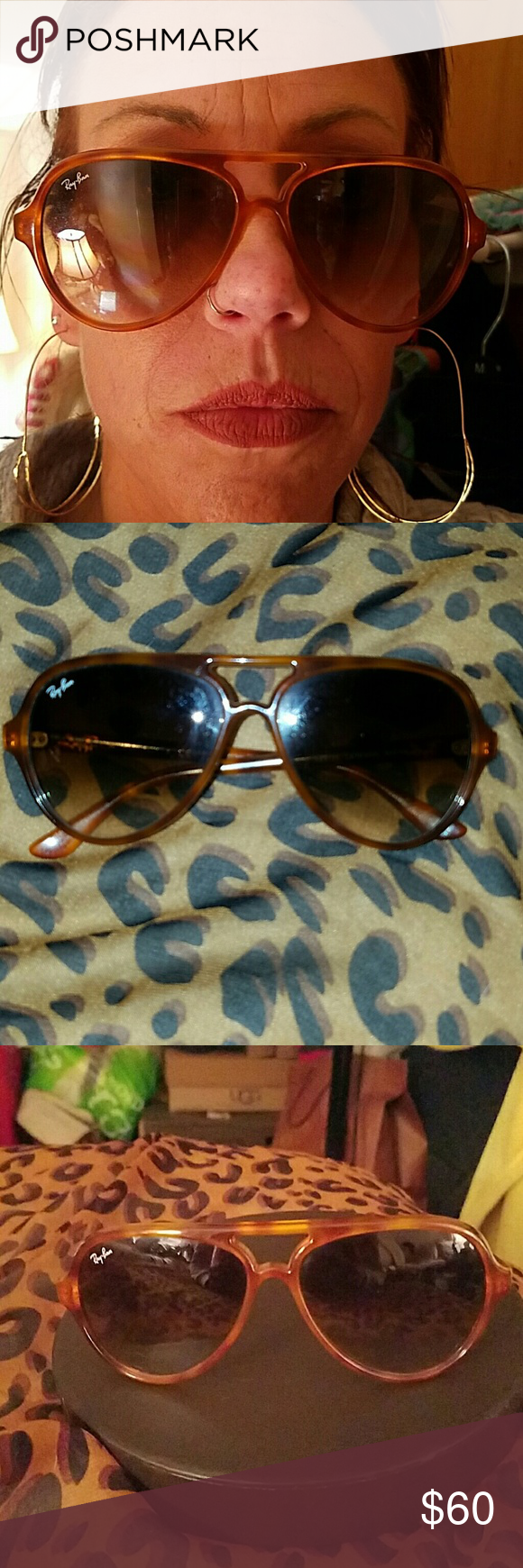 1a8e1238c6 Vintage Ray Ban Aviator Sunglasses - Authentic Lightweight Authentic Vintage  Ray-Ban Aviators. Who