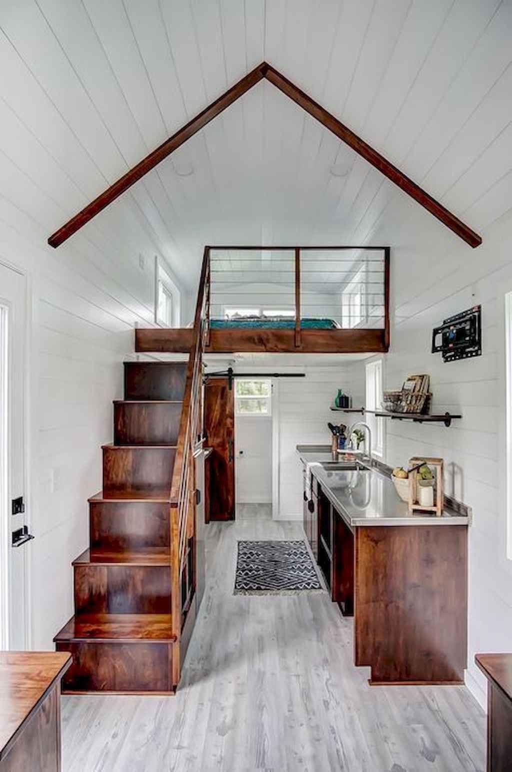 65 Awesome Tiny House Interior Design Ideas Decoradeas Tiny House Loft Best Tiny House Tiny House Design