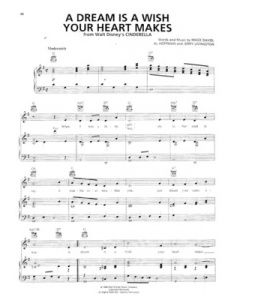 A Dream Is A Wish Your Heart Makes Flute Sheet Music Cinderella A Dream Is A Wish Your Heart Makes Sheet Music Dream Song Cinderella Song Lyrics