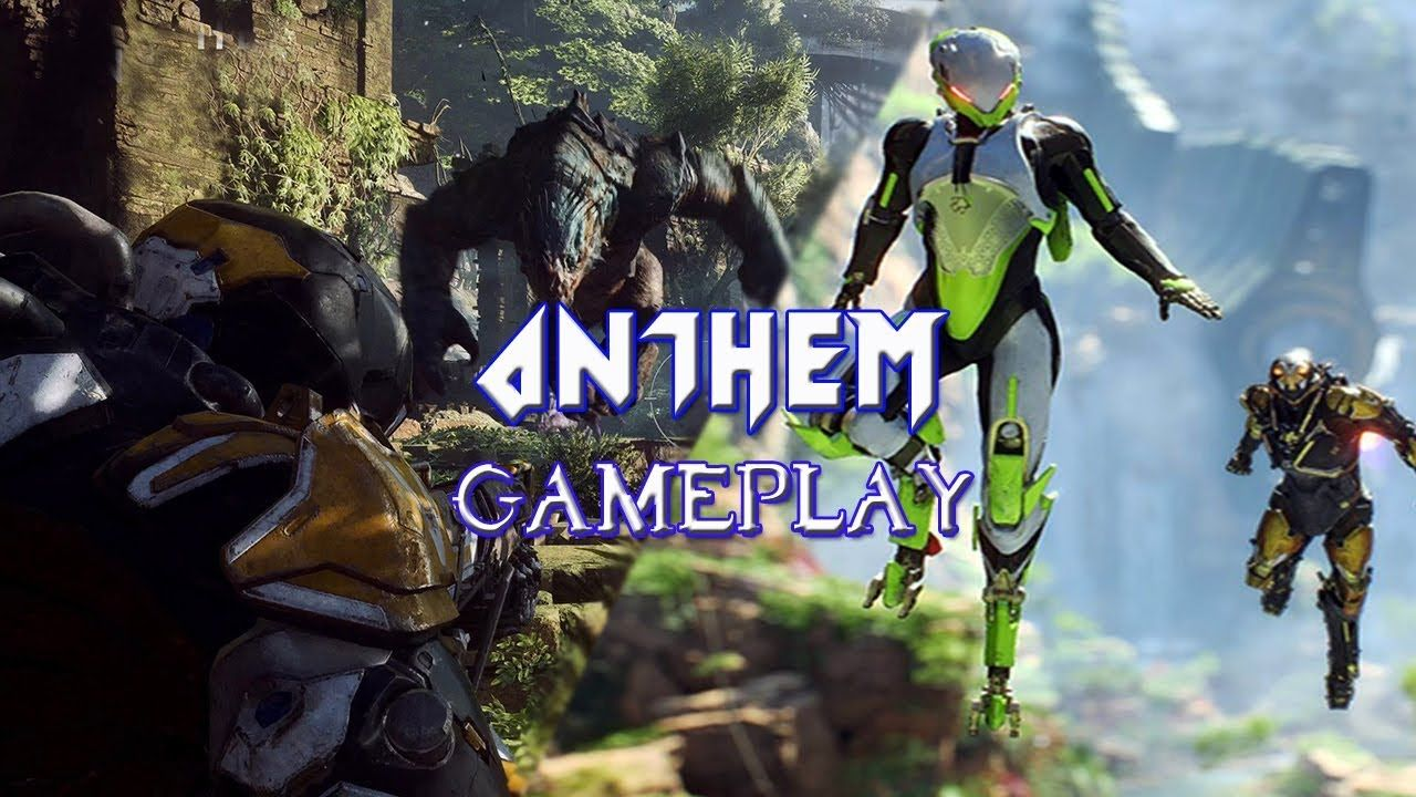 Anthem Full Gameplay Demo E3 Best Action Game Winner 4k 2018 19 Anthem Gameplay Action Games Anthem
