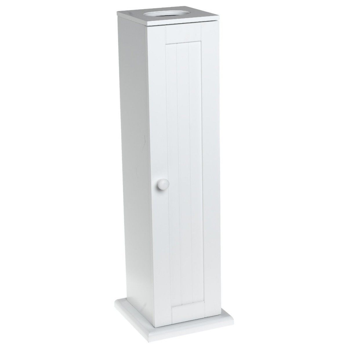 Bennington Country Cottage White Toilet Paper Cabinet Holder Tower Free Standing With Images Bathroom Interior Design Storage Wood Toilet Paper Holder