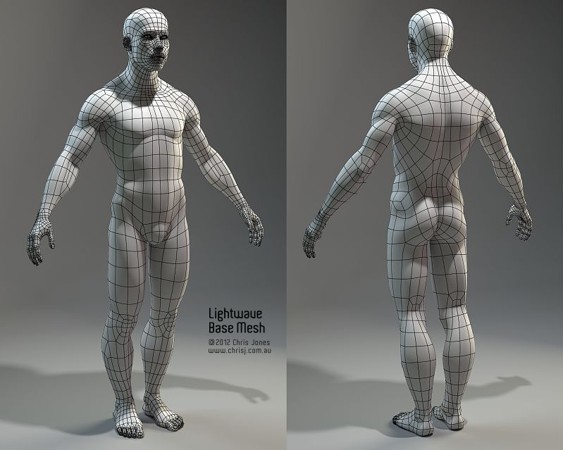 Picked up by CGchips. 2D,3DCG tutorials and 3Dprinter news site.  http://cgchips.com/ | Topology, Anatomy models, Character modeling