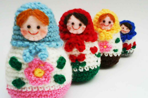 10 ways to make Russian dolls - including a crochet option