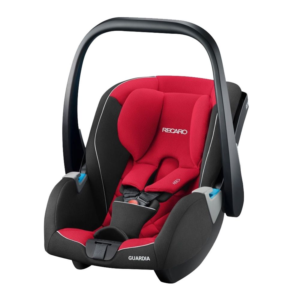 Recaro Guardia 0+ Car Seat Racing Red Baby Child Car