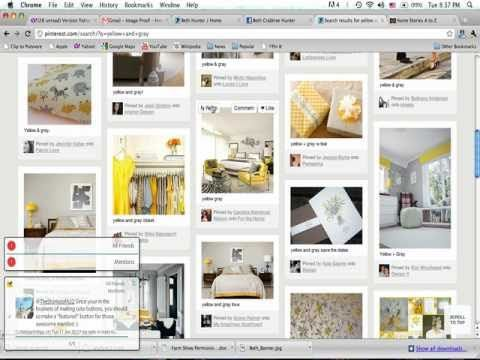Tutorial to share with people interested in Pinterest but unsure how it works.