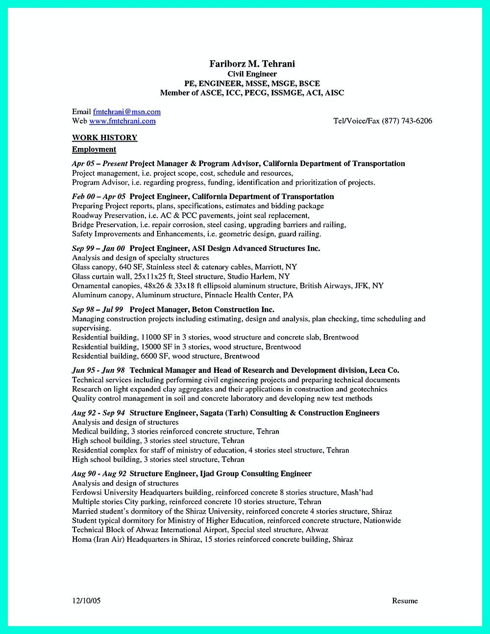there are so many civil engineering resume samples you can download one of good and - Objective For Engineering Resume 2