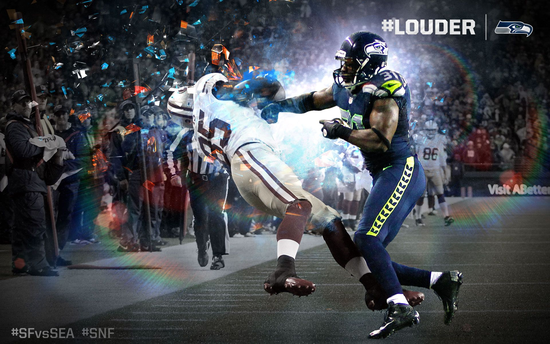 Kam Chancellor Nfl football wallpaper, Nfl football
