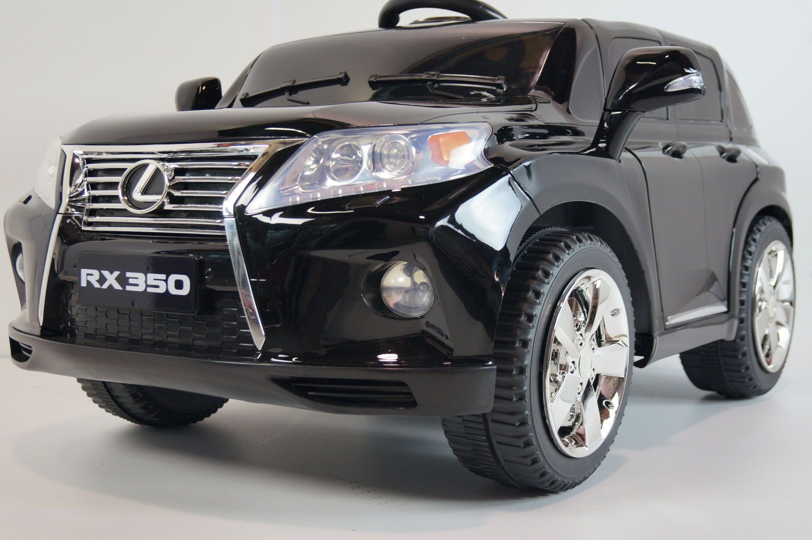 Rideonecar Battery Operated Ride On Toy Car For Kids Lexus Rx350 Suv Black Toy Cars For Kids Ride On Toys Lexus Rx 350