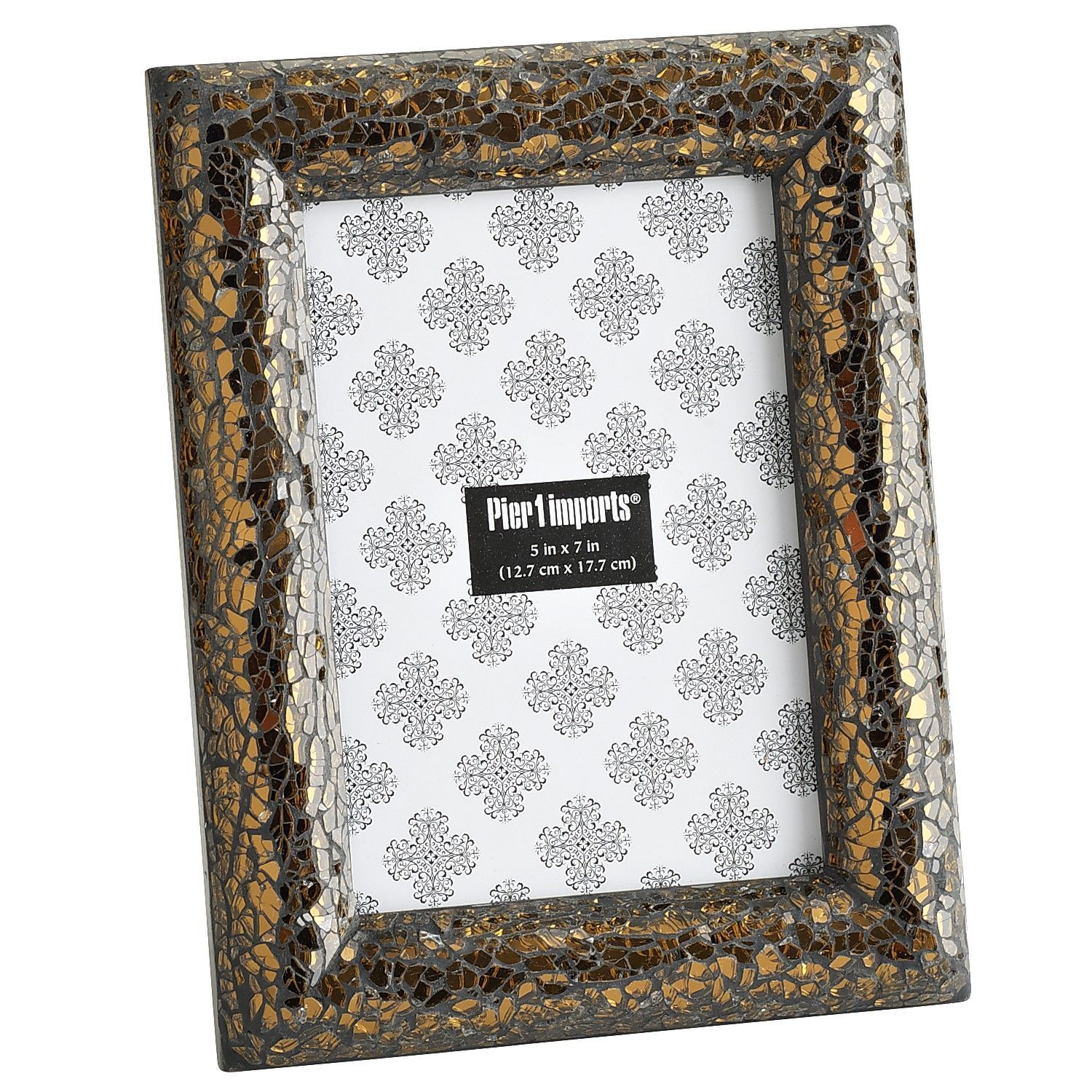 Bronze Mosaic Frame | Pier 1 Imports | Bohemian Apartment Vibes ...