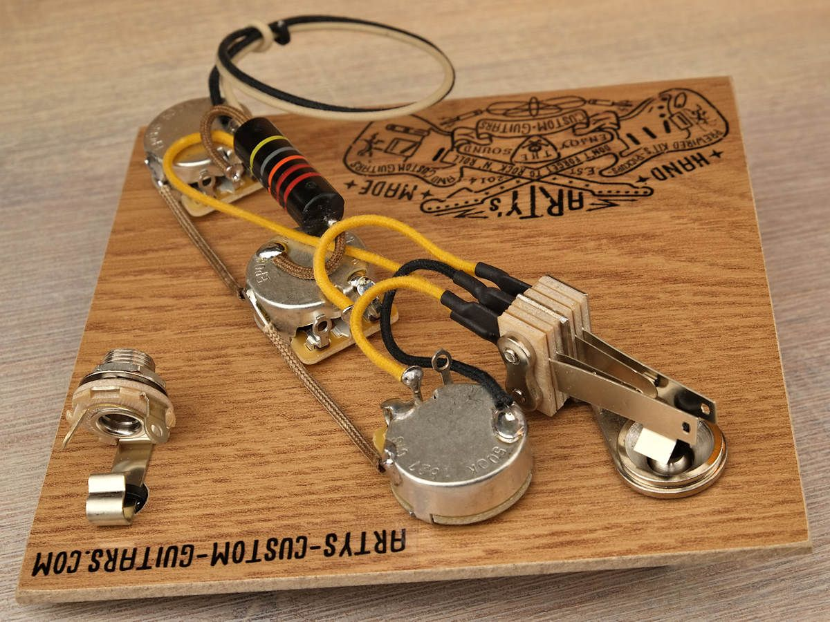Guitar Wiring Harness Flying V Korina Les Paul