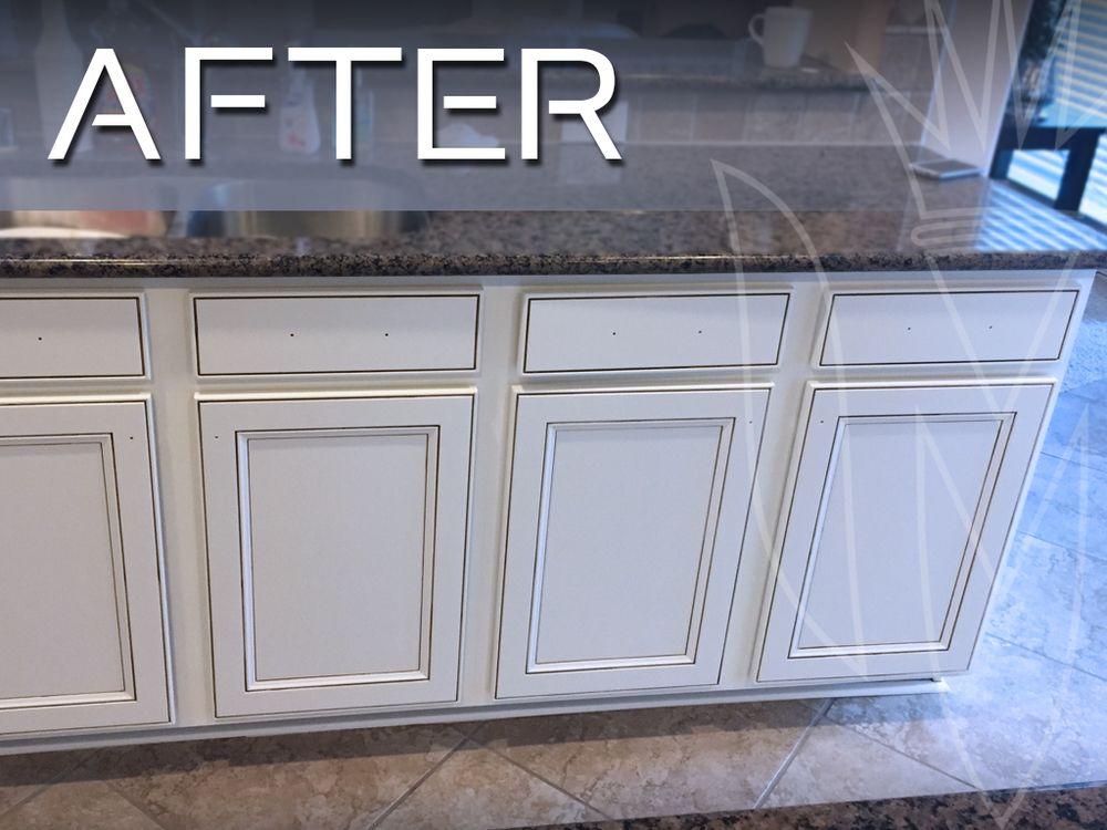 Image Result For White Cabinet Grey Glaze Maple Kitchen Cabinets Kitchen Cabinets Refinishing Cabinets