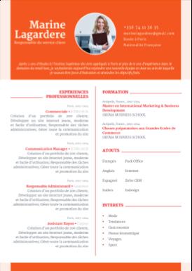 Cv Meaning Cv Assistante Cv Étudiant  Cv Presentation  Pinterest