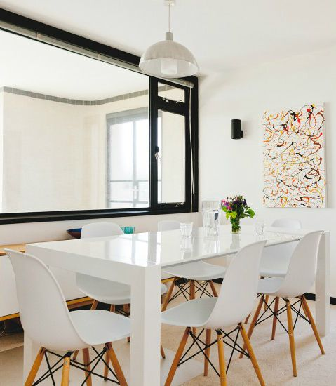 Uberlegen Der Ausziehbare Esstisch Bramante In Weiß Ist Ein Echtes Design Statement    Minimalistisch, Modern Und