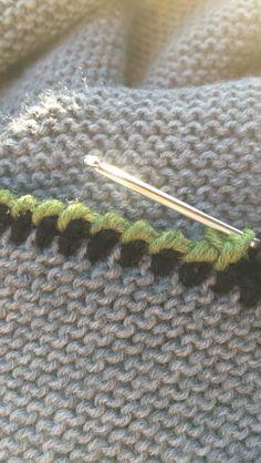 Trachtentuch Dreieckstuch Umhäkeln Anleitung Knitting Ideas