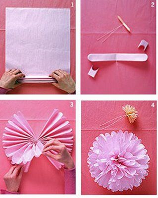 Paper Puff Ball Decorations Cool Puff Balls Made Of Tissue Paper Floral Wire And Monofilament Inspiration Design