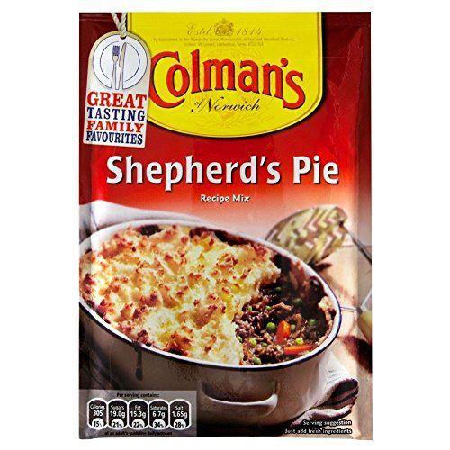 Colman S Shepherd S Pie Sauce Mix 50g Pack Of 2 Shepherds Pie Food Recipes
