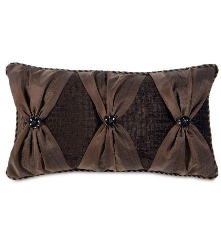 santana truffle w bows from eastern accents pillows pinterest kissen kissenbez ge und. Black Bedroom Furniture Sets. Home Design Ideas