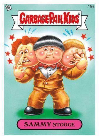 Sammy Stooge Garbage Pail Kids Garbage Pail Kids Cards Pail